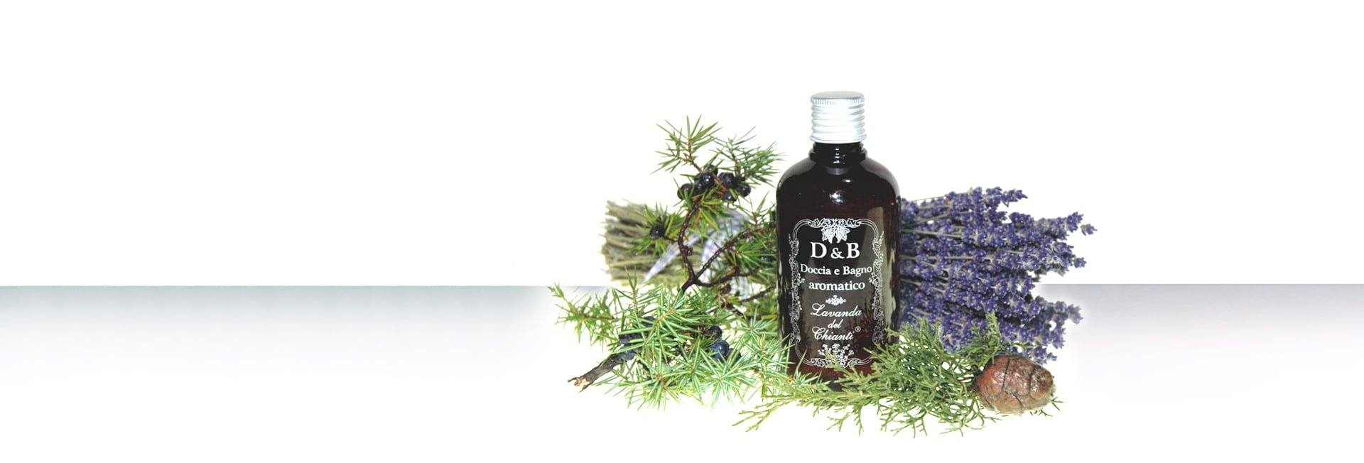 Aromatic liquid soap based on cypress, juniper and lavender essential oil