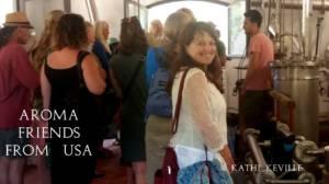 Aromaterapeuti americani in visita